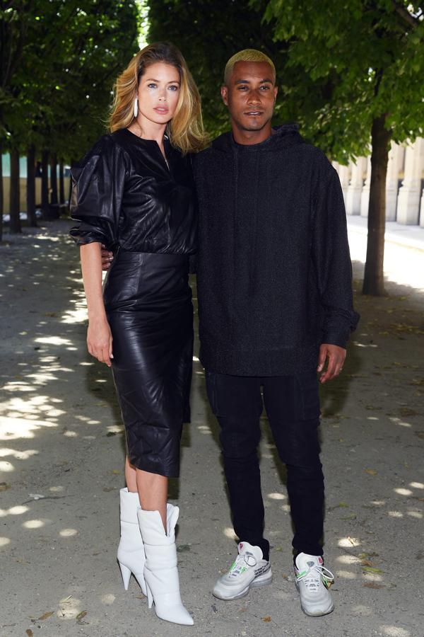 Dàn sao diện đồ bảy sắc cầu vồng ở show Louis Vuitton - 6