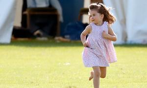 William tiết lộ Công chúa Charlotte 'nghiện' màu hồng