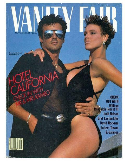 Brigitte từng kết hôn với tài tử Sylvester Stallone.