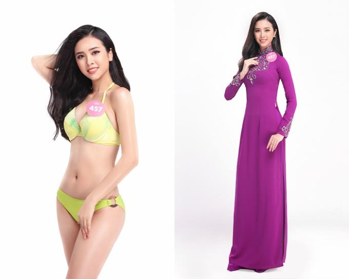 6 nguoi dep mien Tay vao chung ket Hoa hau Viet Nam 2018