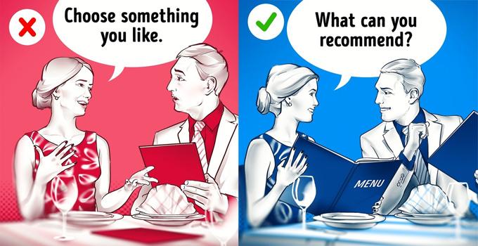 19 quy tắc nhà hàng cần nhớ để tránh rơi vào tình huống kém sang - 3