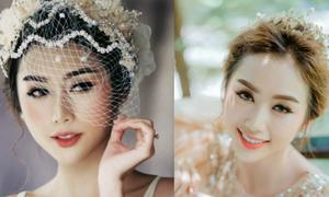 Cách kết hợp trang điểm và phụ kiện 'hô biến' cô dâu thành công chúa