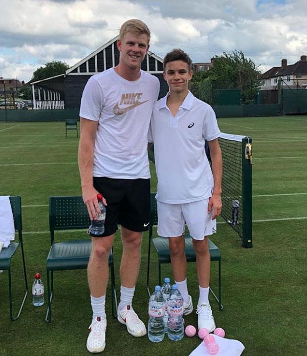 ... và tay vợt số hai của AnhKyle Edmund.