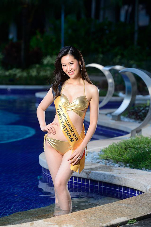 Duong Thuy Linh buon vi san khau Mrs Worldwide khong hoanh trang