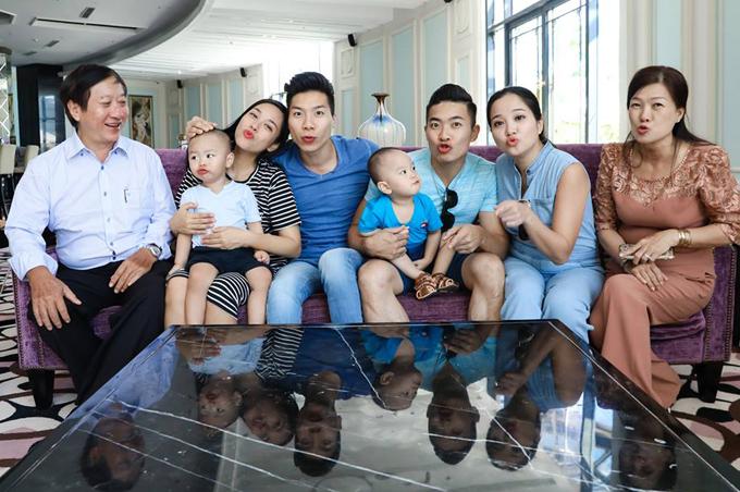 Dai gia dinh Quoc Co - Quoc Nghiep di nghi he o Nha Trang