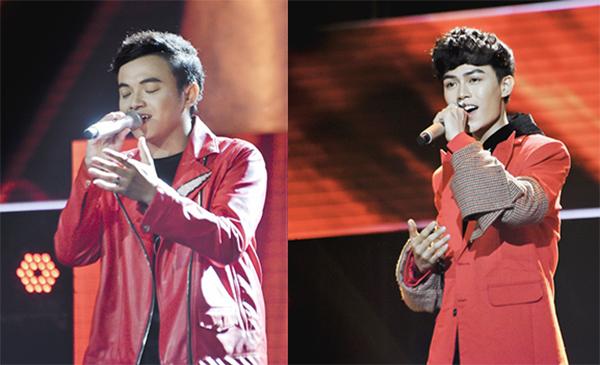 Minh Tân và Quốc Anh thể hiện ca khúc Sau tất cả.