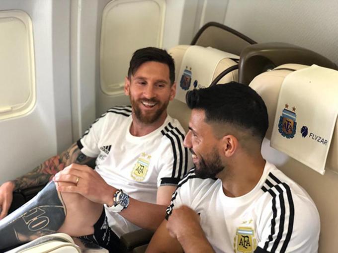 Messi và nhiều đồng đội trở lại châu Âu hoặc đi du lịch sau khi kết thúc hành trình tại World Cup 2018 thay vì về Argentina. Ảnh: Instagram.