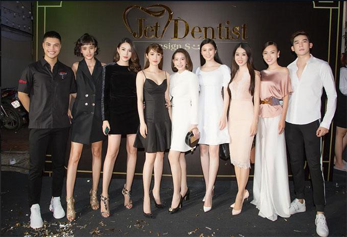 Hoa hau Hai Duong deo trang suc tien ty di su kien