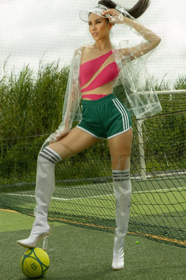 Để giữ được vóc dáng với ba vòng săn chắc như hiện tại, Á hậu tích cực tập gym hàng ngàyđồng thời tuân theo chế độ ăn uống hợp lý. Khi đại diện cho Việt Nam tham dự các cuộc thi nhan sắc lớn như Miss World,MissGrand International vàMissUniverse, cô đã khiến khán giả ngưỡng mộ về body lý tưởng.
