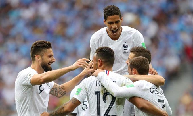 Pháp vào bán kết World Cup sau 12 năm. Ảnh: FIFA.