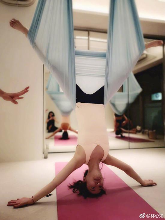 Lam Tam Nhu tap yoga moi ngay de giu eo thon dang nuot