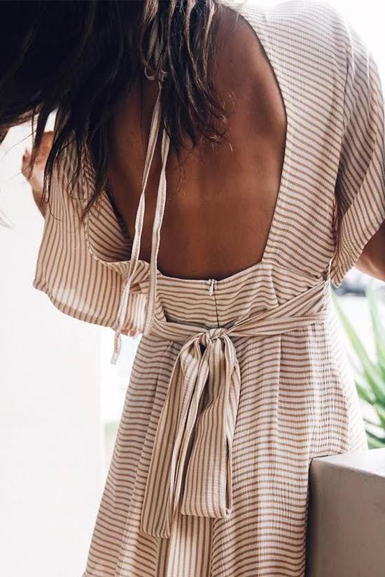 Đầm khoe lưng trần hot trend cho mùa hè - 6