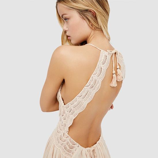 Đầm khoe lưng trần hot trend cho mùa hè - 1