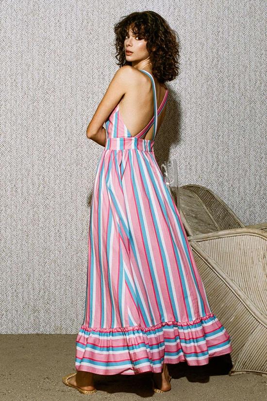 Đầm khoe lưng trần hot trend cho mùa hè - 2