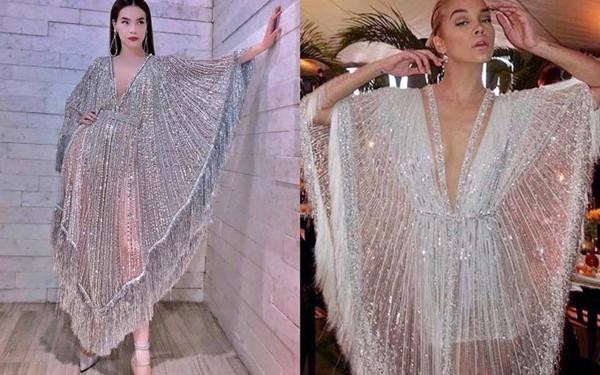 Thiết kế chiếc áo nữ hoàng Gatsby nhận được nhiều lời khen vì sự tinh tế và đẹp mắt. Tuy nhiên thiết kế của Lý Quí Khánh được nhận xét có nhiều điểmtương đồngvới bộ đầm người mẫu Jasmine Sanders từng mặc khi tham gia một buổi tiệc của Vogue Arabia vào tháng 4.