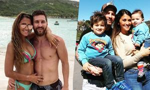 Những chuyến du lịch lúc nào cũng có nhau của nhà Messi