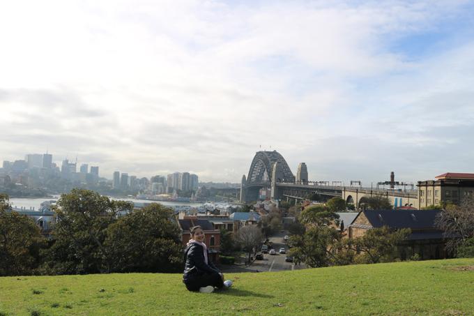 View chụp hình đẹp miễn chê từ ngọn đồi.