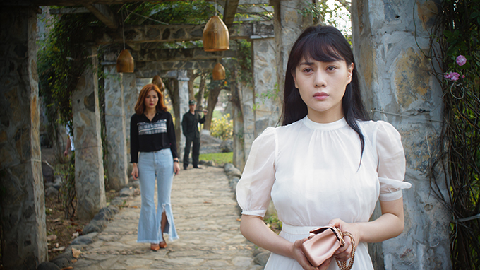 Phương Oanh trong phim Quỳnh búp bê.