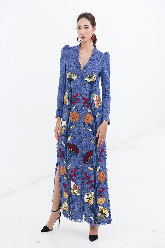 Trong tiết trời ẩm ướt của mùa mưa, các mẫu váy cắt may trên chất liệu vải twed sẽ mang lại cảm giác ấm áp cho người sử dụng.