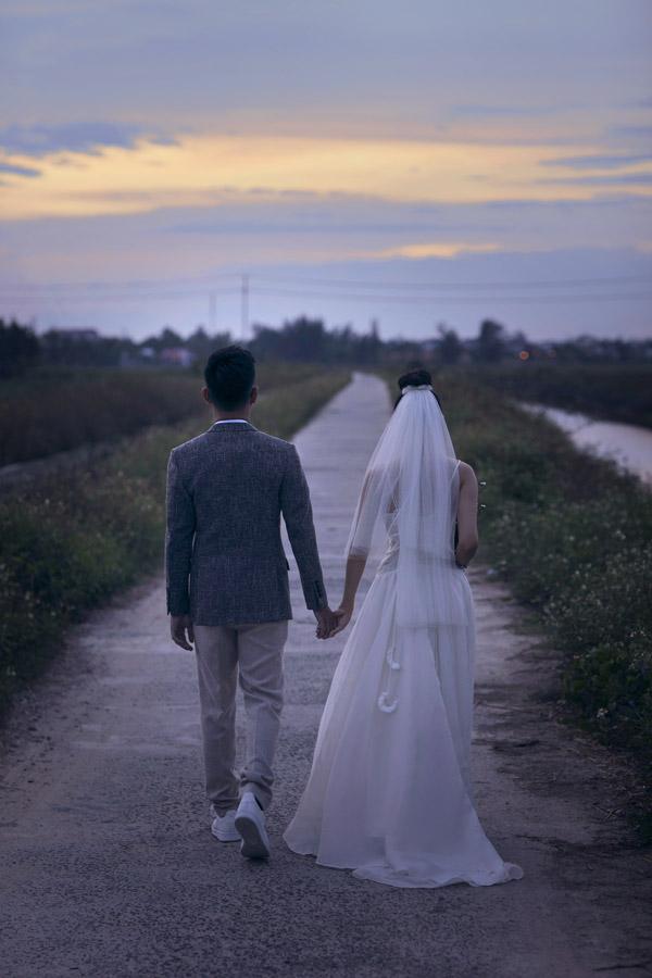Ảnh cưới của Hoàng Quyên và chồng kiến trúc sư - 11