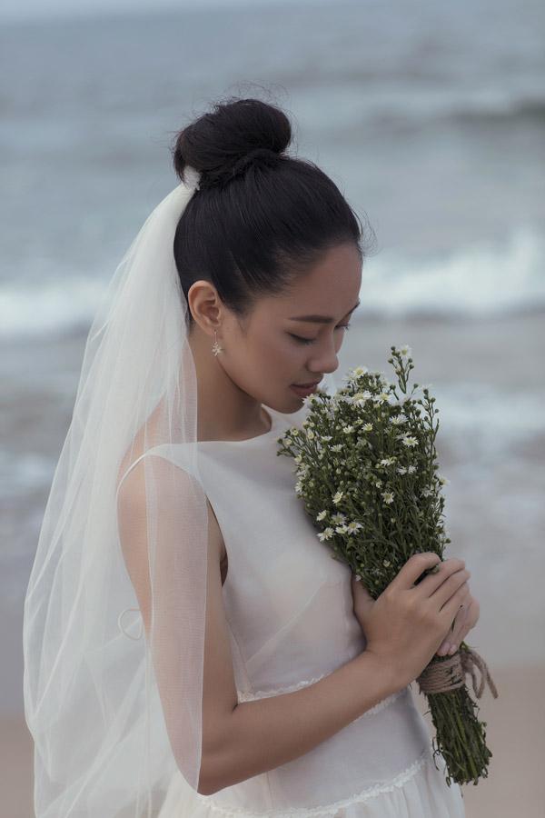 Ảnh cưới của Hoàng Quyên và chồng kiến trúc sư - 4