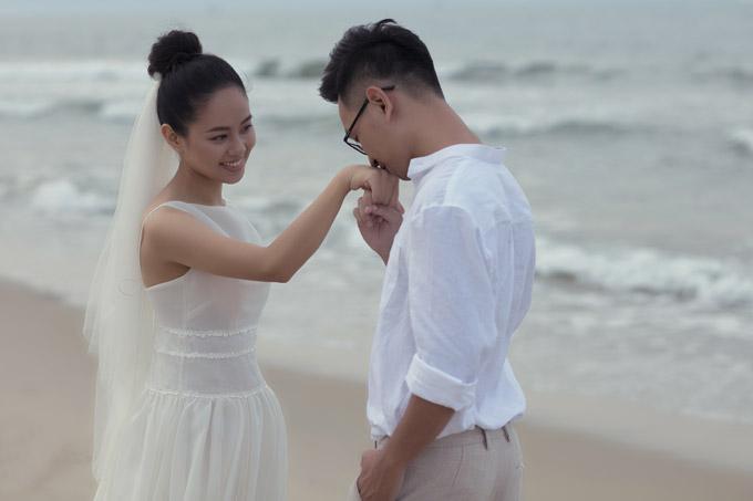Ảnh cưới của Hoàng Quyên và chồng kiến trúc sư - 7