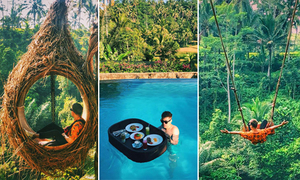 Chàng trai Hà Nội tận hưởng một Bali 'nhã không gì bằng'