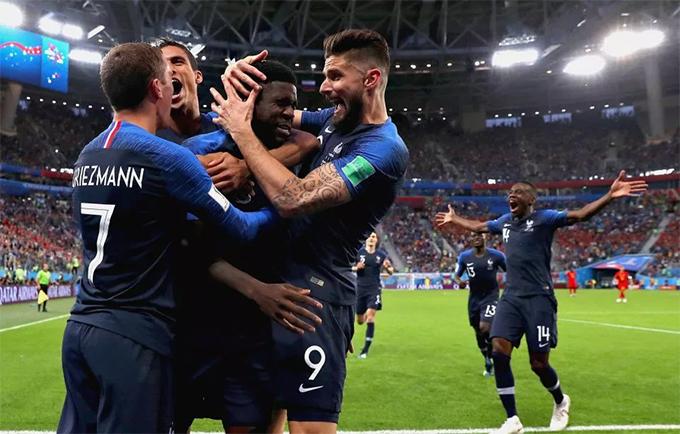 Sau 20 năm, tuyển Pháp mới lại có mặt ở chung kết World Cup kể từ lần đăng quang trên sân nhà năm 1998 sau chiến thắng 3-0 trước Brazil.