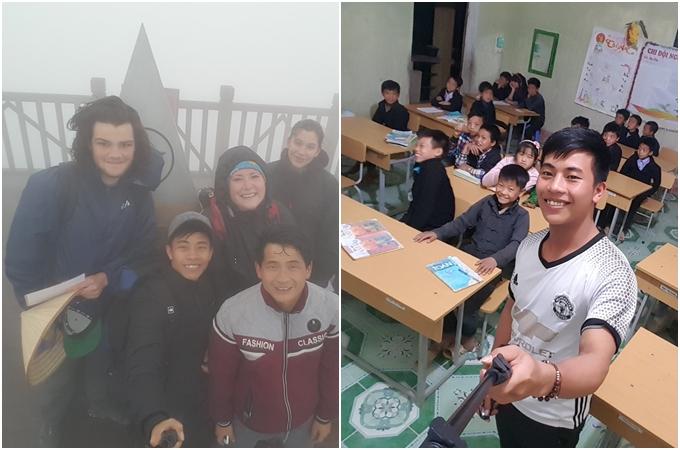 Hành trình xuyên Việt vừa đi vừa làm của chàng trai Hà Tĩnh - ảnh 2
