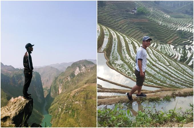 Hành trình xuyên Việt vừa đi vừa làm của chàng trai Hà Tĩnh - ảnh 3