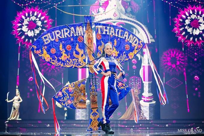 Trang phục truyền thống của thí sinh Hoa hậu Hòa bình Thái Lan 2018 - 6