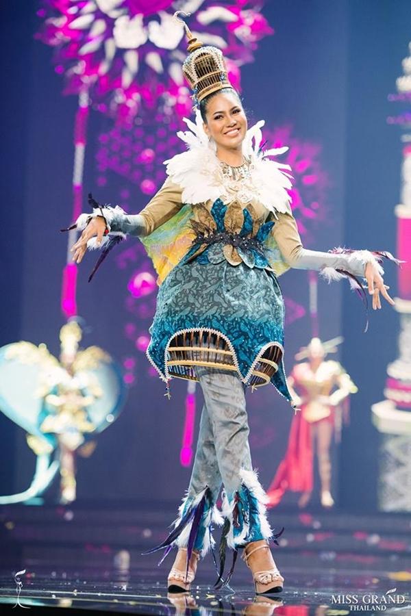 Trang phục truyền thống của thí sinh Hoa hậu Hòa bình Thái Lan 2018 - 8