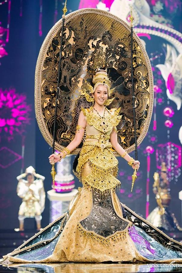 Trang phục truyền thống của thí sinh Hoa hậu Hòa bình Thái Lan 2018 - 9