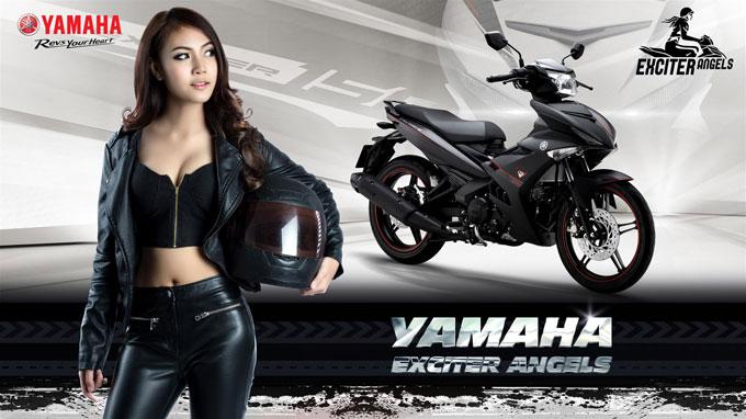 Yamaha Exciter Angels dành cho những cô gái muốn khẳng định quan điểm con gái mê xe cũng chất lừ chẳng kém cánh mày râu.