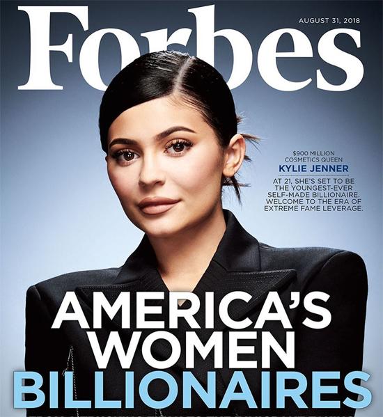 Kylie sắp trở thành nữ tỷ phú.