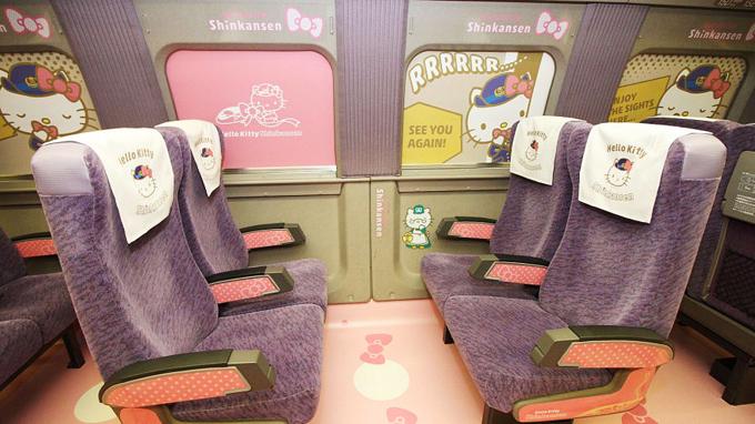 Chuyến tàu Hello Kitty đưa hành khách lạc vào thế giới thần tiên - ảnh 6