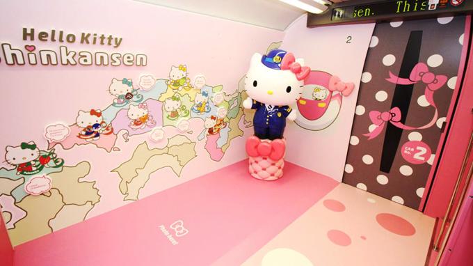 Chuyến tàu Hello Kitty đưa hành khách lạc vào thế giới thần tiên - ảnh 3