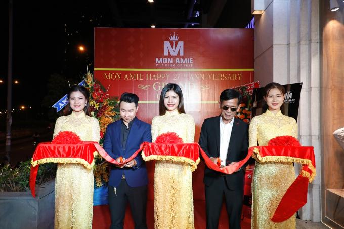 Nhiều diễn viên dự khai trương Mon Amie Suit - Sài Gòn Pearl - 2