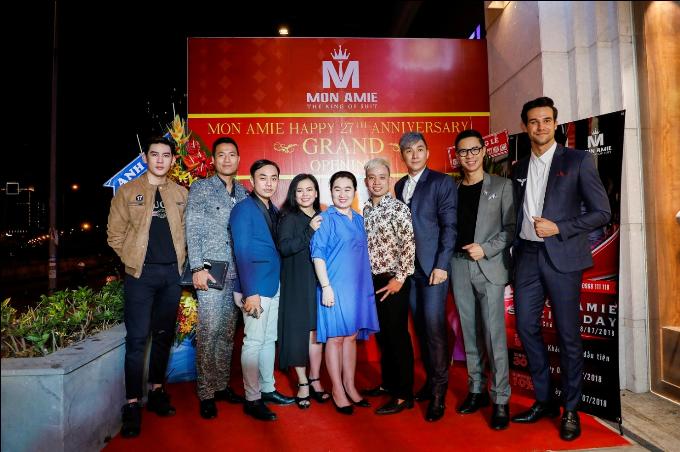 Nhiều diễn viên dự khai trương Mon Amie Suit - Sài Gòn Pearl - 4