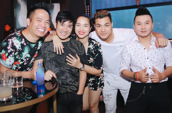 Quách An An mặc hở bạo đi tiệc cùng người mẫu Vũ Tuấn Việt - ảnh 4