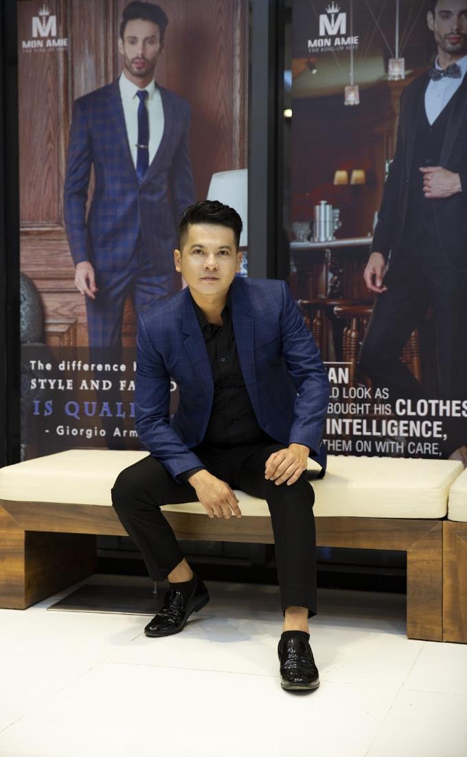 Nhiều diễn viên dự khai trương Mon Amie Suit - Sài Gòn Pearl - 6