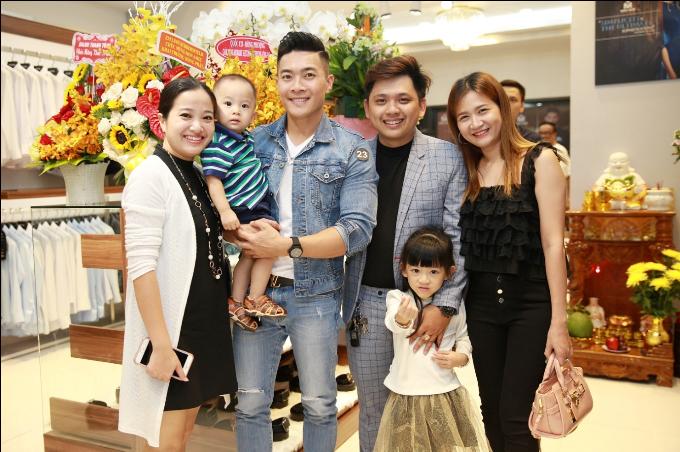 Nhiều diễn viên dự khai trương Mon Amie Suit - Sài Gòn Pearl - 3