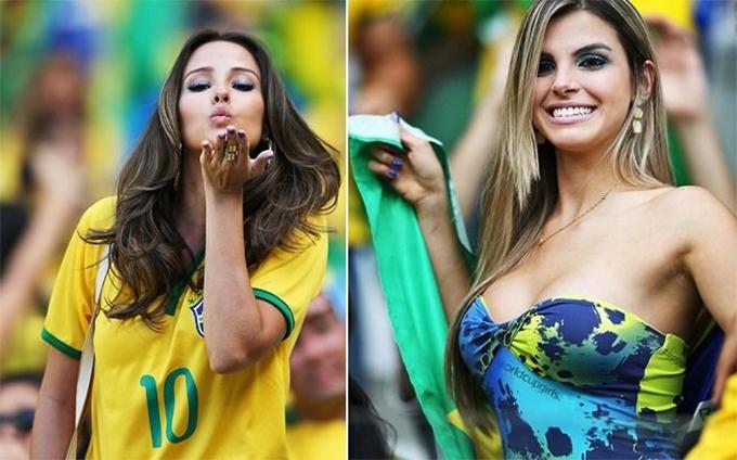 Nhiều fan nữ trở nên nổi tiếng sau khi xuất hiện ít giây trên truyền hình.