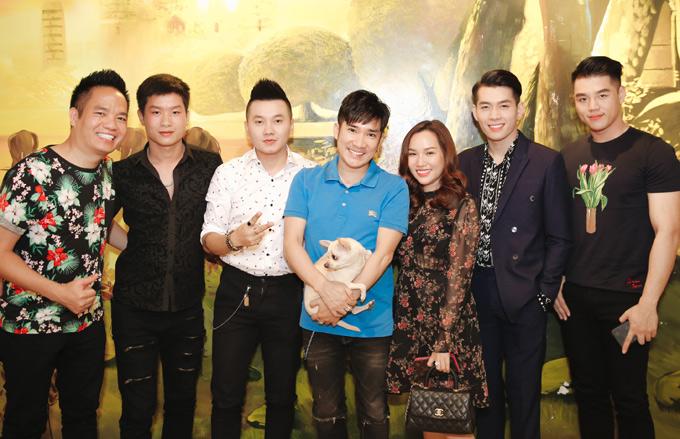 Quách An An mặc hở bạo đi tiệc cùng người mẫu Vũ Tuấn Việt - ảnh 7