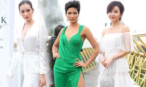 H'Hen Niê diện váy xẻ cao nổi bật bên dàn người đẹp