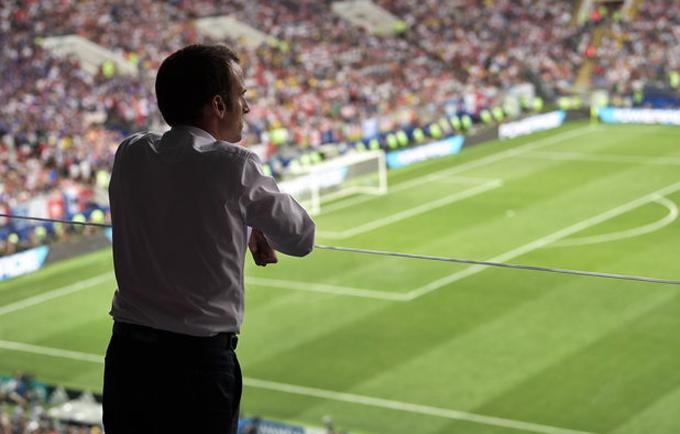 50 sắc thái của Tổng thống Pháp trong trận chung kết World Cup - 1