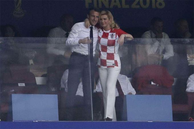 50 sắc thái của Tổng thống Pháp trong trận chung kết World Cup - 2