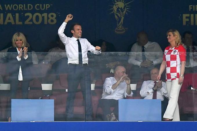 50 sắc thái của Tổng thống Pháp trong trận chung kết World Cup - 3