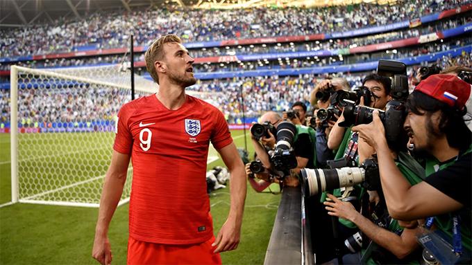 Harry Kane lả Vua phá lưới World Cup 2018 với 6 bàn thắng. Ảnh: FIFA.