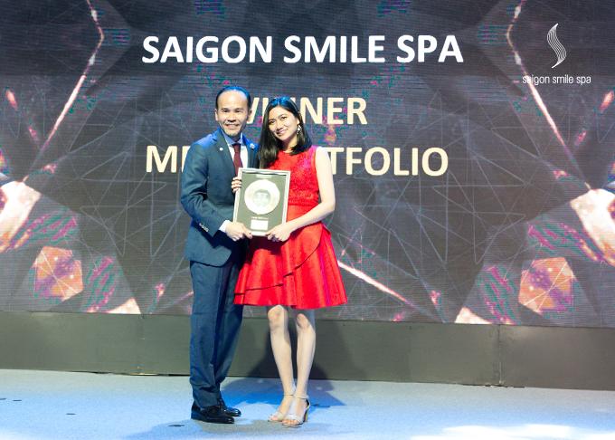 Saigon Smile Spa lập hattrick giải thưởng làm đẹptại IMCAS 2018 - 1